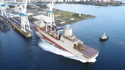 Navantia Launches Royal Australian Navy's First Supply ...