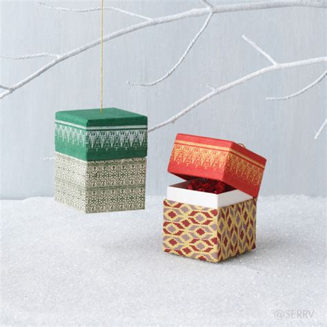 ornaments small gift ornament box set