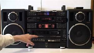 Sharp Cd-x99 Stereo System
