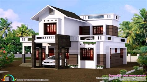 9 Feet Front Home Design : 1400 Sq Ft House Plans In Kerala With Photos