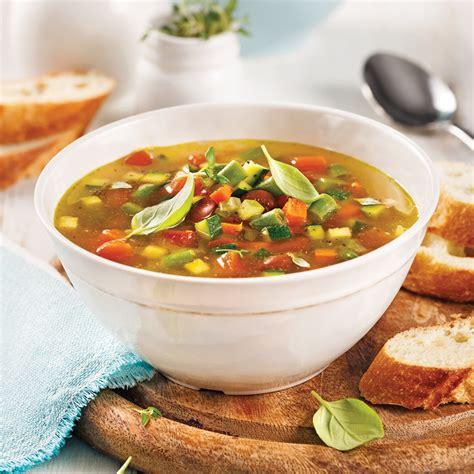 cuisine à la mijoteuse soupe minestrone à la mijoteuse recettes cuisine et