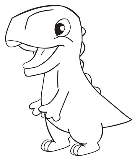 simple dinosaur coloring pages easy dinosaur coloring