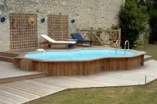 piscine hors sol en bois pas cher lareduc