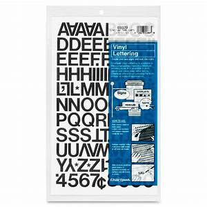 Press on vinyl letters numbers self adhesive black for Self adhesive house numbers and letters