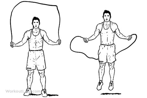 rope jumping jump rope workoutlabs