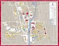 Columbus state university map - Map of Columbus state ...