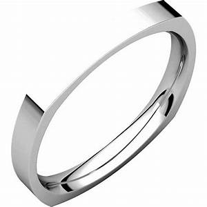 48839w square classic wedding ring With wedding ring square