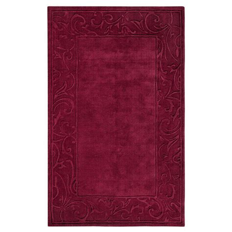 home decorators collection rugs home decorators collection cyrus burgundy 8 ft x 11 ft 42136