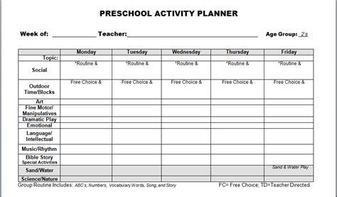 Preschool Lesson Plan Template Kindergarten Lesson Plan Template Madinbelgrade