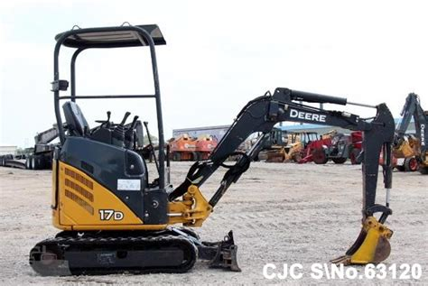 john deere  mini excavator  sale  model cjc  japanese  machinery