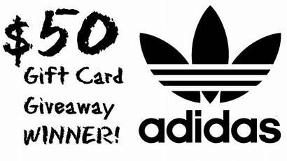 Gift Card Winner Adidas Giveaway