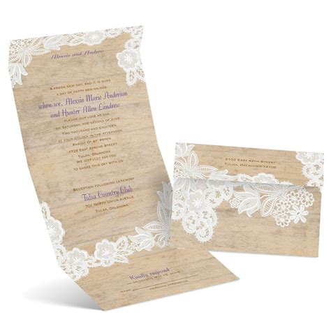 vintage country seal  send invitation anns bridal