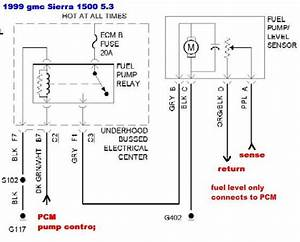 Gmc Sierra 1500 Questions Location Of Fuel Pump Relay And Fuse Cargurus