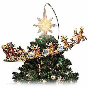 Thomas Kinkade Santas and Christmas Home Decor carosta