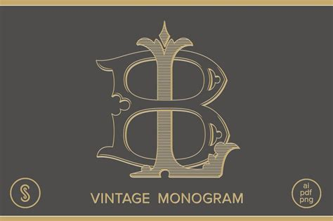 Bl Monogram Lb Monogram