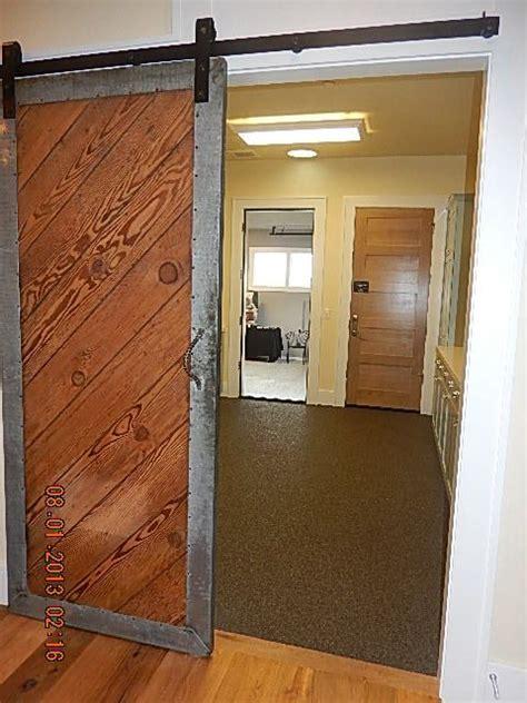 Framing Sliding Closet Doors by Metal Frame With Diagonal Wood Sliding Door Sliding