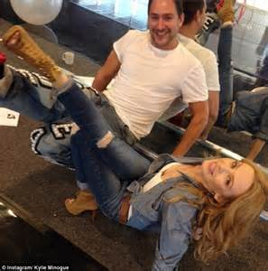 Kylie Minogue and stylist William Baker working together ...