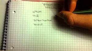 Volumen Eines Kreises Berechnen : volumen und oberfl che eines w rfels berechnen mathe bung youtube ~ Themetempest.com Abrechnung