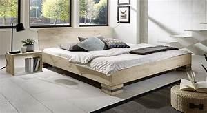 Weisse Betten Holz : betten aus naturholz elegant latest betten holz massiv bett x holz massiv doppelbett bett x ~ Markanthonyermac.com Haus und Dekorationen