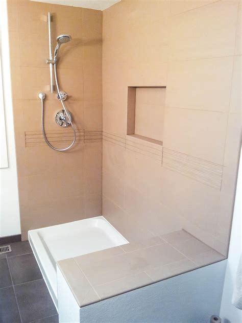 bathroom showers  seattle tile contractor irc