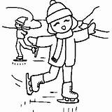 Skating Ice Coloring Pages Sheet Sports Skateboar Freecoloringsheets sketch template