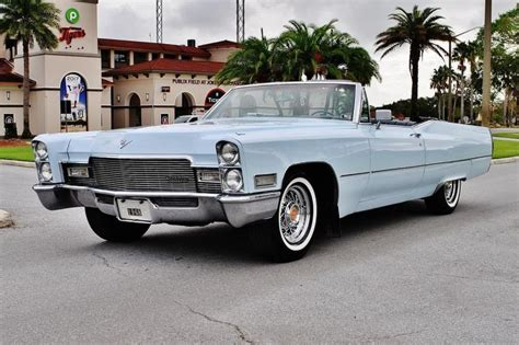 cars  cadillac deville convertible