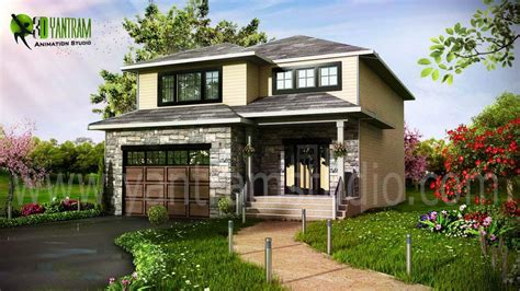 Home Design Visualiser : Architectural 3d Exterior Elevation Modelling & Rendering