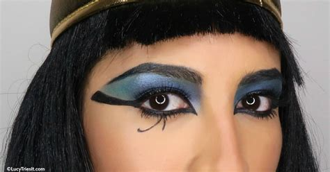 cleopatra makeup  halloween  tips  oily skin