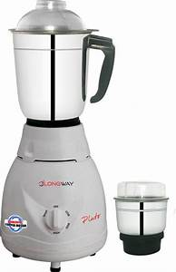 Longway Pluto 550 Watt 2 Jar Mixer Grinder Price In India