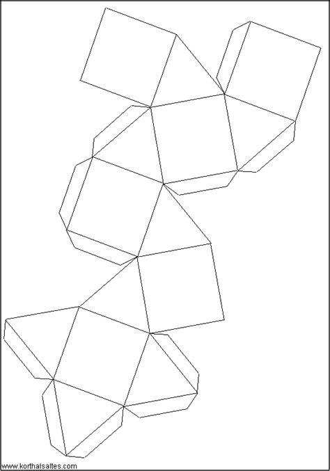 Truncated Cuboctahedron Template by Paper Cuboctahedron