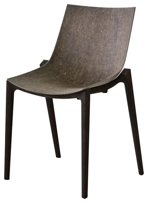 chaise philippe starck zartan eco stackable chair hemp fiber grey seat