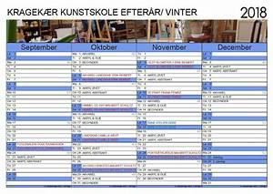 KALENDER 2018 MaiBritt Schultz • Kragekær Kunstskole