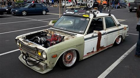 Datsun 510 Build by 1972 Datsun 510 Ratsun Air Ride Drift Car Build Project