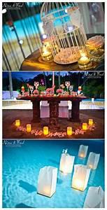 Decoration De Piscine : mariage gris et rose ~ Zukunftsfamilie.com Idées de Décoration