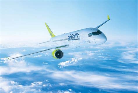 aircraft   airbaltic