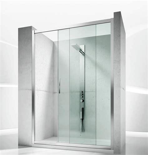 installazione docce cabina doccia ad un lato installazione in nicchia idfdesign