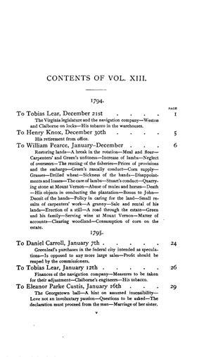 writings  george washington vol xiii
