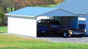 2039x2139 Drive Thru Metal Carport