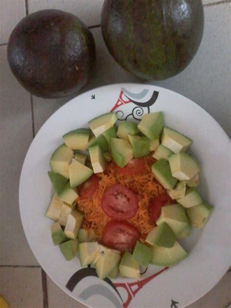 cuisine avocat repas et salades