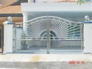 home architecture design stainless steel gate sun burst ironworks sdn bhd
