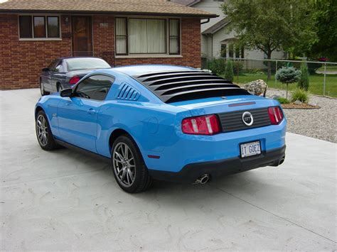 Quarter Louvers + Rear Window Louvers?  Ford Mustang Forum