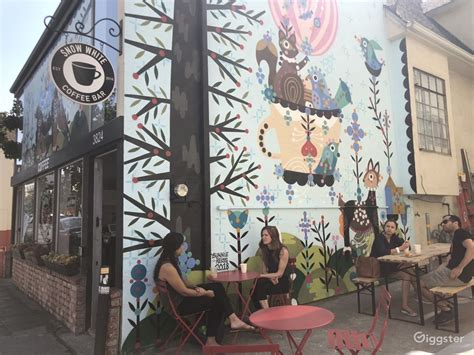 Yandex.maps can help you find a street, building or business. Oakland coffee shop + mural   Rent this location on Giggster
