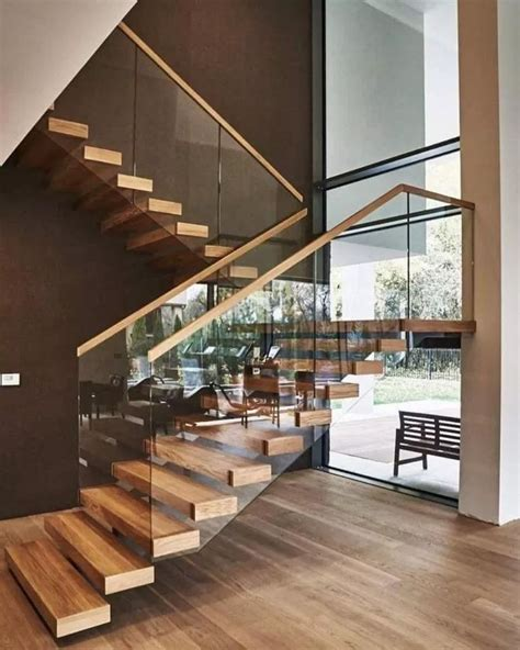 beautiful wooden stair design ideas   home  dekor   modern staircase