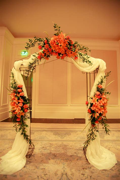 Wedding Arch St Regis Hotel Anik