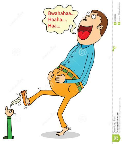 tickling stock vector illustration  tickling humor