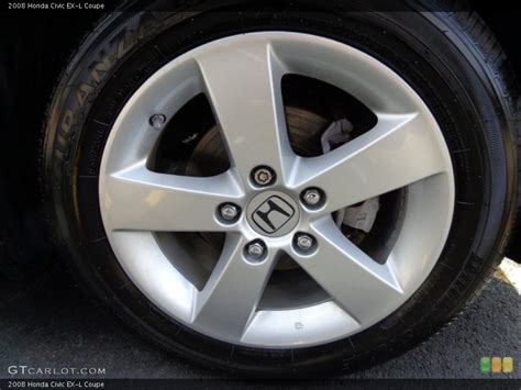 2008 honda civic ex l coupe wheel and tire photo 90858631