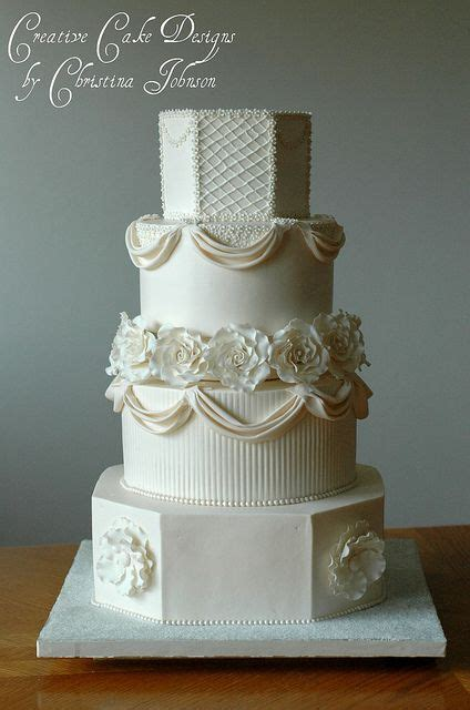 jessica buttercream wedding cake  creative cake designs