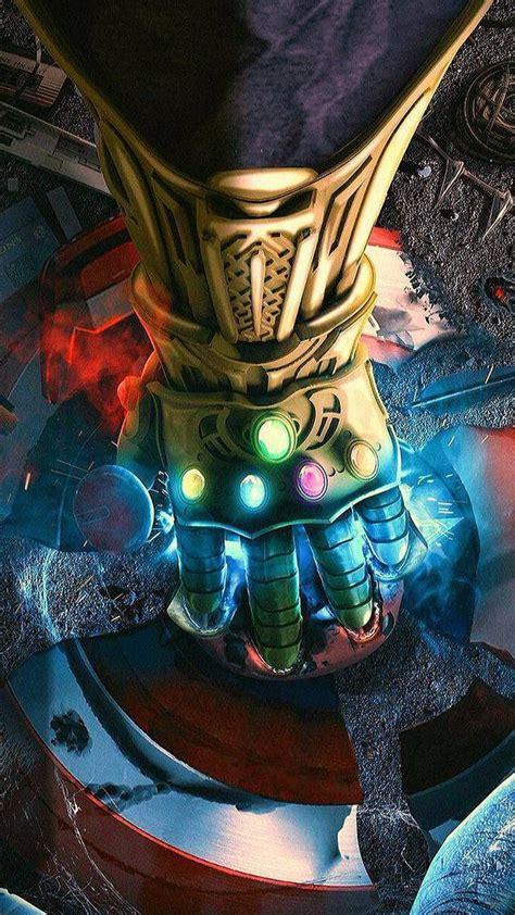 pantalla fondos avengers marvel infinity 4k thanos gauntlet fondo endgame celular wallpapers wattpad iron tanos hd vingadores vengadores universe smartphone