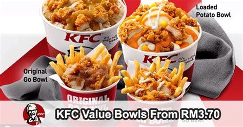 kfc  bowls  rm