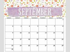 Download September 2018 Calendar Template August 2018